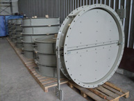 Industrial Flowpro Dampers For Tunnel Metro